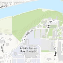 Uwec Campus Map Maps + Directions