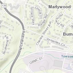 Maryland Campus Facilities - Tu Parking Lots: Towson ...