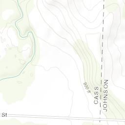 Devil Ridge Map - Johnson County, MO