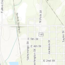 Corinth Washington Map.Corinth Ms Zoning Map