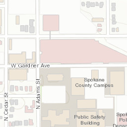 Campus Map Locations Spokane County Wa