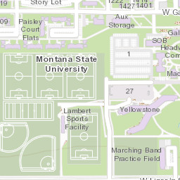 msu bozeman campus map Campus Map Montana State University msu bozeman campus map