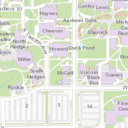 Campus Map Montana State University