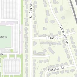 ISU Campus Map on