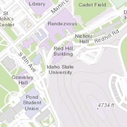 Lander University Campus Map.Isu Campus Map