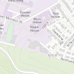 Pittsburgh 1957 Spygl Map-BN on