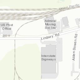 Deq Facility Location Map