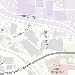 Georgia Tech Campus Map