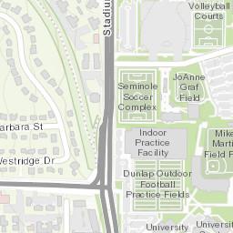 Biscayne Bay Campus Map.Florida State University Campus Map
