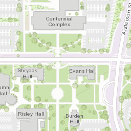 Riverside Campus Map.Loma Linda University Campus Map