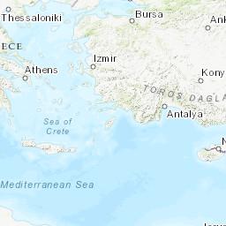 巴爾幹半島實時空氣質量