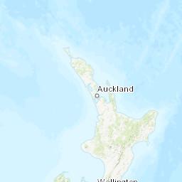 New Zealand Northland Map Detailed.New Zealand