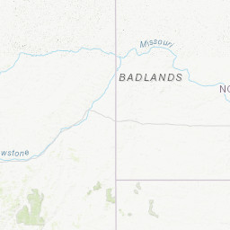 Badlands Nebraska Map.Nebraska Real Time Water Quality