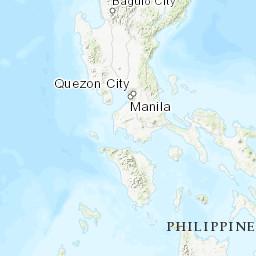 Karte Philippinen.Luftverschmutzung In Philippinen Echtzeit Karte Des Luftqualitätsindex