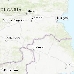 Karte Bulgarien.Luftverschmutzung In Bulgarien Echtzeit Karte Des