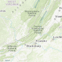 Refuge Map Ohio River Islands U S Fish And Wildlife Service