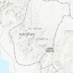 Landsat image map of the Wadi Hali Quadrangle, sheet 18E