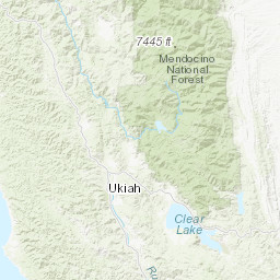 San Gabriel Zip Code Map.Water Data Library Home