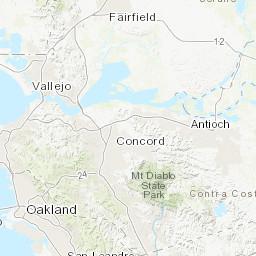 Sonoma County Region Fire History 1939 To 2017