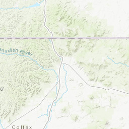 Aeromagnetic map of parts of southern Colfax, northern Mora ...
