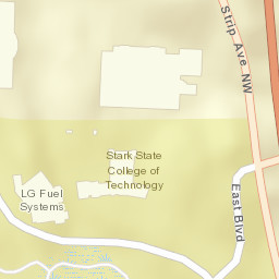 Kent State University Fortress - Fortress - Wizards Unite Map on