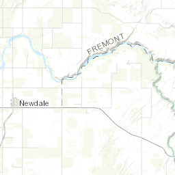 rexburg idaho map